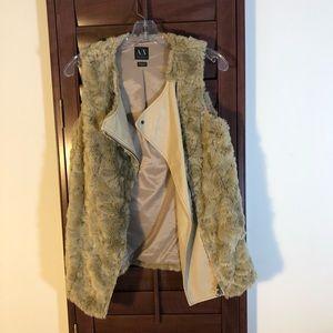 Armani Exchange Furry Vest